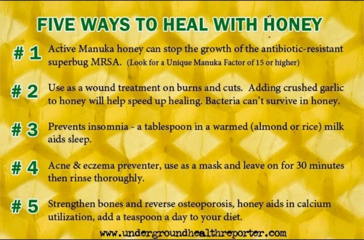 Manuka Honey Fitness Pinterest