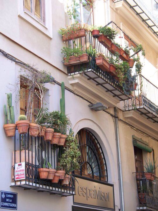 spanish balcony home decor pinterest