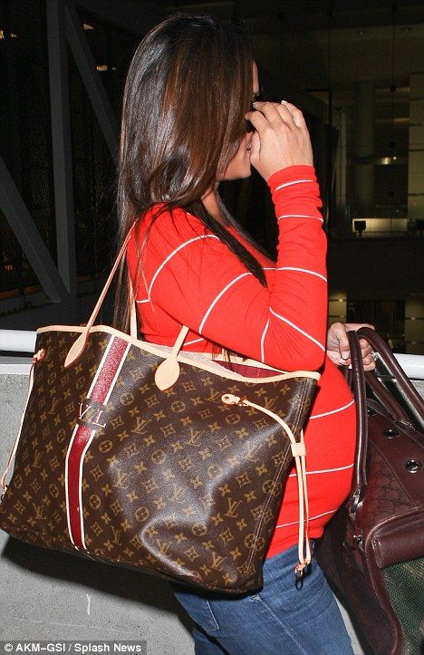 LOVE the monogram on the LV