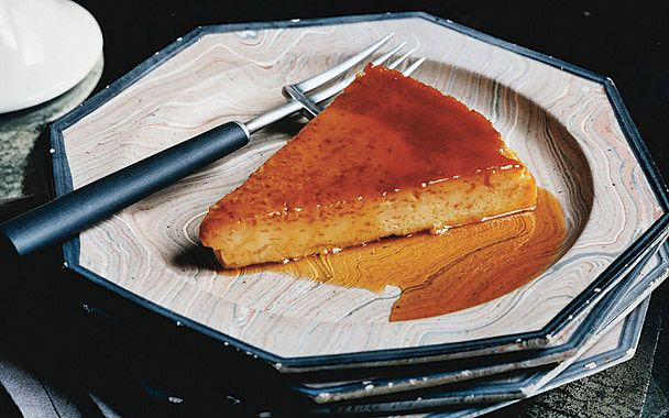 Orange Flan I can eat this all day with hot chocolate or a glass of ...