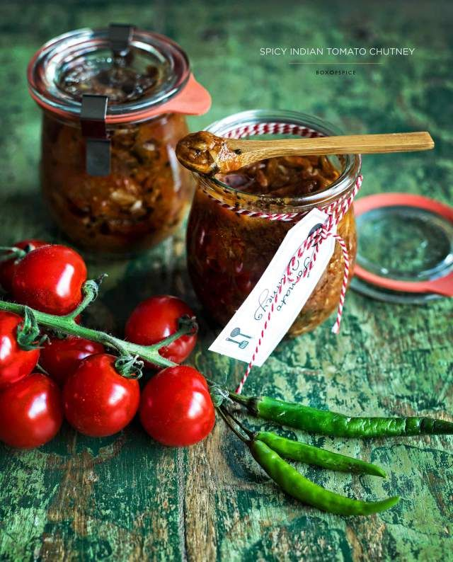 spicy tomato chutney with indian spices using the freshest tomatoes ...