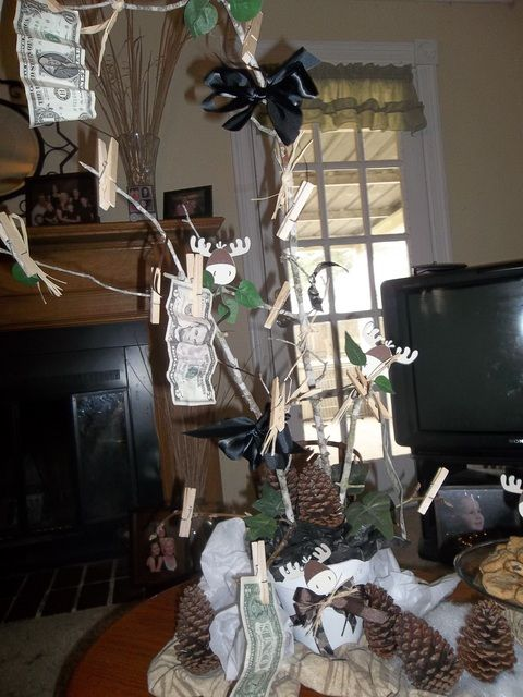 hunting camo theme baby shower party ideas