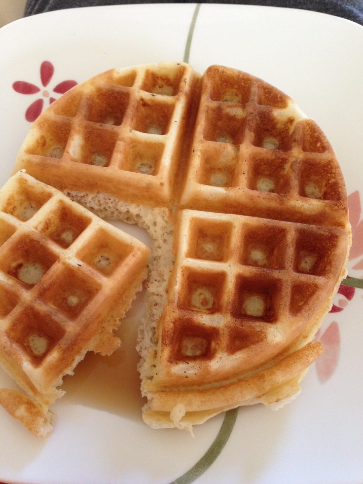 Homemade sourdough starter waffle. | Healthy - Cultures and Ferments ...