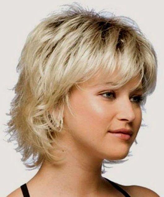Красивая стрижка каскад на короткие волосы