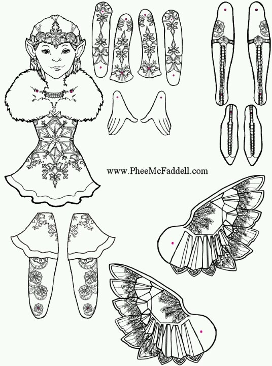 Phee mcfaddell coloring pages