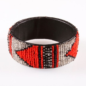 Antigua Beaded Bangle now featured on Fab.