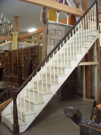 Best Old Wooden Staircase Vintage Salvage Pinterest 640 x 480