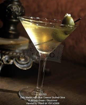 My ultimate favorite cocktail 'Extra Dirty Martini with Bleu Cheese ...