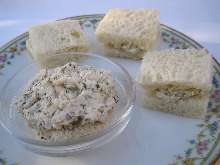 Tea Sandwich Saturday #46 - Chicken Salad with Dill | High Tea ...