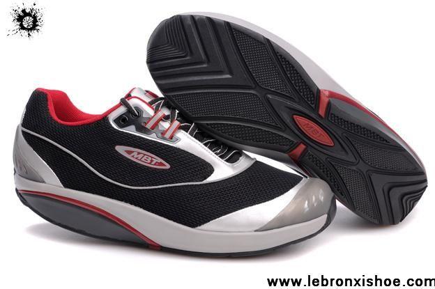 Latest Listing MBT Kimondo Shoes Black Silver For Sale