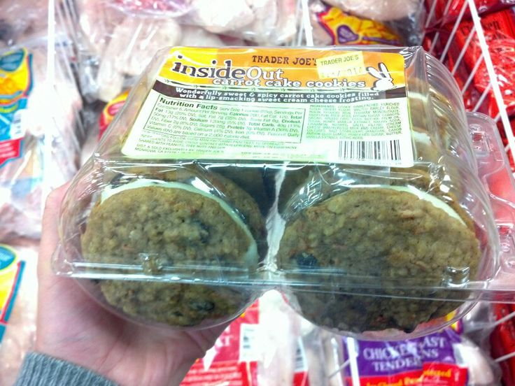 Inside out carrot cake cookies   GOOD EATS   Pinterest