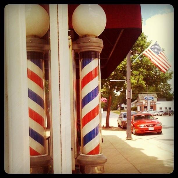 Oldtown main street barbershop
