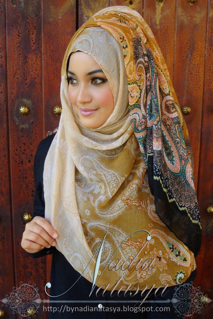 Кавказские девушки фото в платках и не только