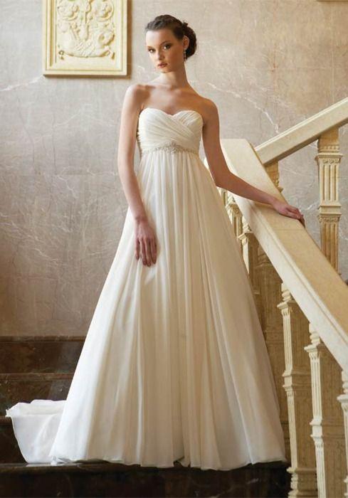 Wedding Dresses Simple And Elegant : Simple yet elegant bridesmaid dresses