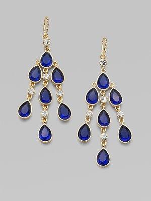 ABS by Allen Schwartz Jewelry  Chandelier Earrings