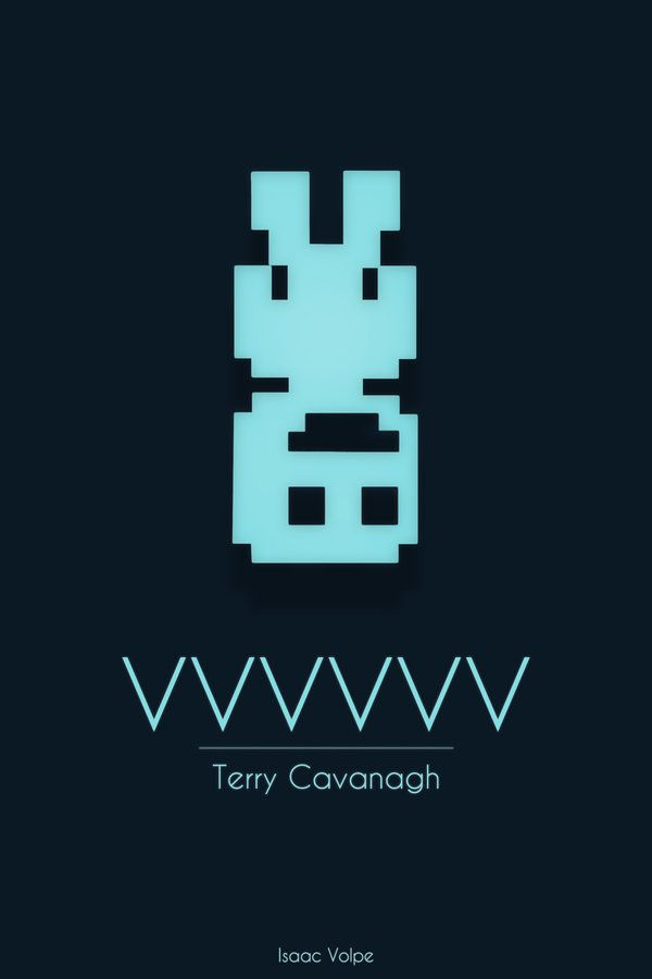 VVVVVV  Design by Isaac Volpe  If you haven't had a chance to check out indie game VVVVVV, check out our Awesome Indies post and download the demo!
