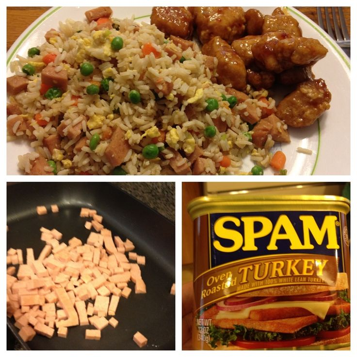 Spam Fried Rice | Food-Main Course | Pinterest