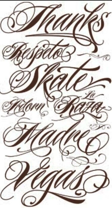 Dope font for a tattoo | Tattoos | Pinterest
