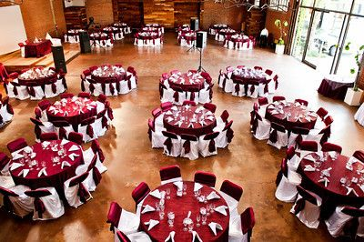 Burgundy and white themed decor wedding reception decor ideas pinterest - Burgundy and white wedding decorations ...