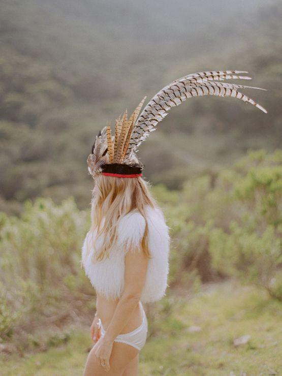 feather headdress = LOVE