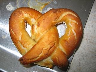 Homemade Soft Pretzels   Bread   Pinterest