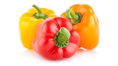 Giada De Laurentiis - Stuffed Bell Peppers - To make it vegan just ...
