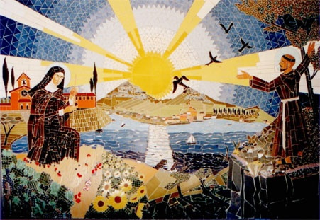 Immagine Mosaico di San Francesco dAssisi