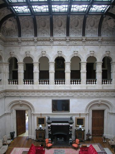 Mentmore Tower Staircase : Grand hall at mentmore towers country interior pinterest