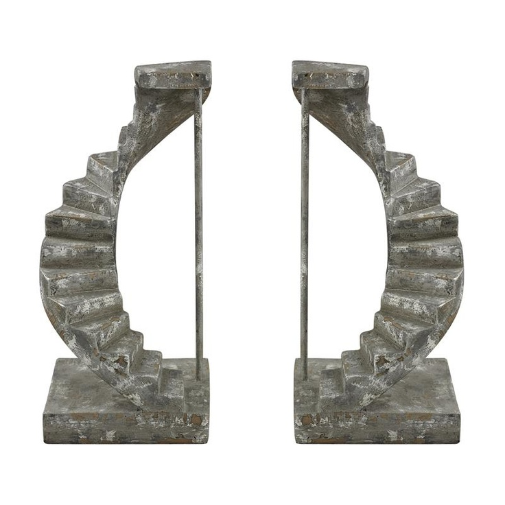Stairwell Bookends Decorative Bookends Pinterest
