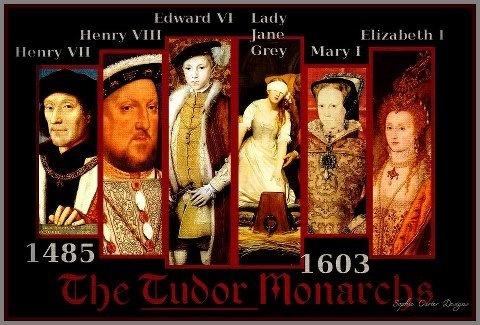 the elizabethan monarchy Henry vii 1485 - 1509 henry viii 1509 - 1547 edward vi 1547 - 1553: jane grey july 1553 mary i 1553 - 1558 elizabeth i 1558 - 1603.