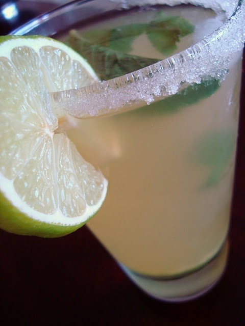 Pineapple-Mint Green Tea Cooler   Beverages   Pinterest