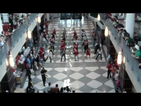 ohio state flash mob