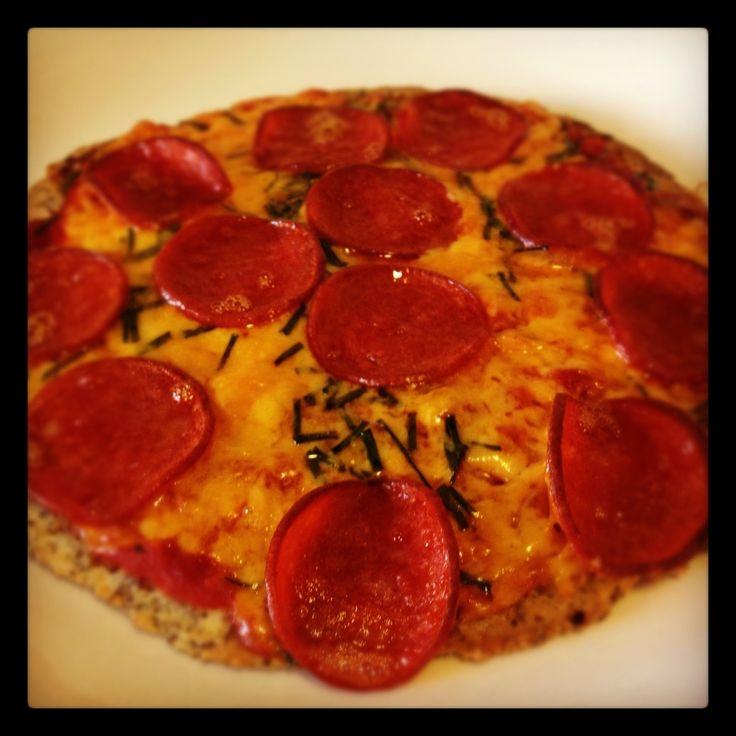 Low carb pizza | Low Carb Recipes | Pinterest