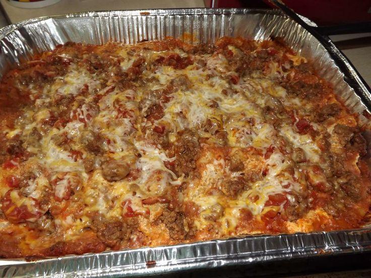 Taco Lasagna | Favorite Recipes | Pinterest
