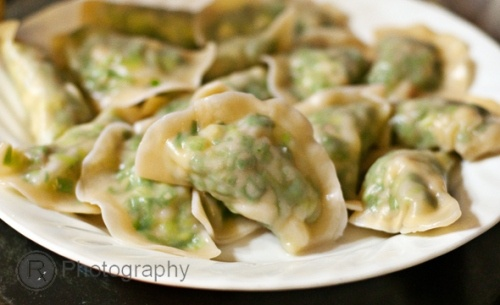 jiao zi steamed shrimp mushroom dumplings for chinese new year chinese ...