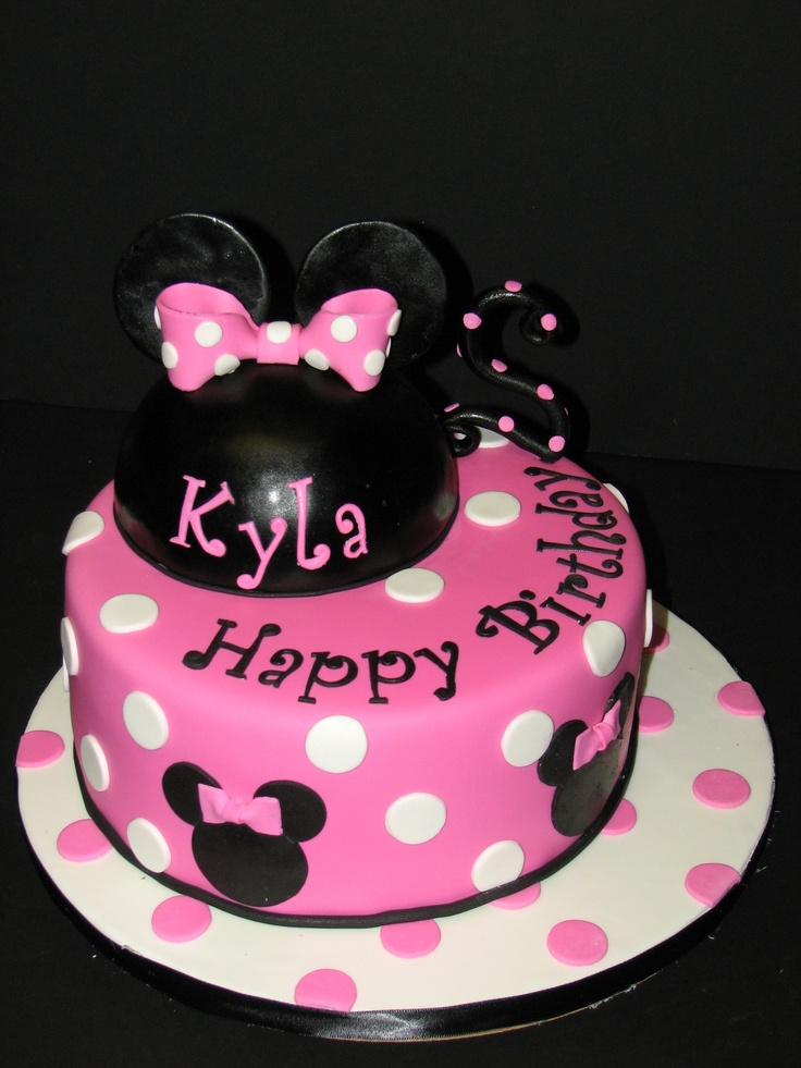 Minnie Mouse 2nd Birthday Cake Ideas 10816  Minnie Mouse Ca