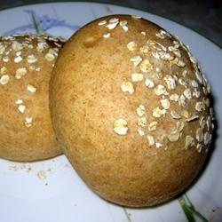 Honey Wheat Sandwich Rolls | Recipe