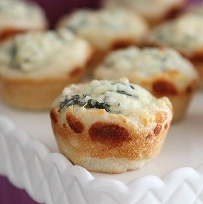 Baked Spinach Dip Mini Bread Bowls | Appetizers/Party Foods | Pintere ...