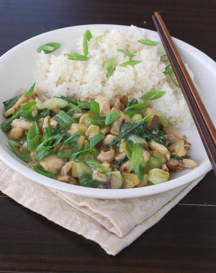 Oyster Sauce Chicken and Bok Choy | Recipes | Pinterest