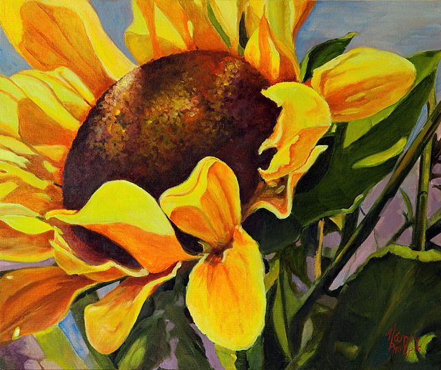 sunflower paintings - Bing Images | sunflower paintings ...