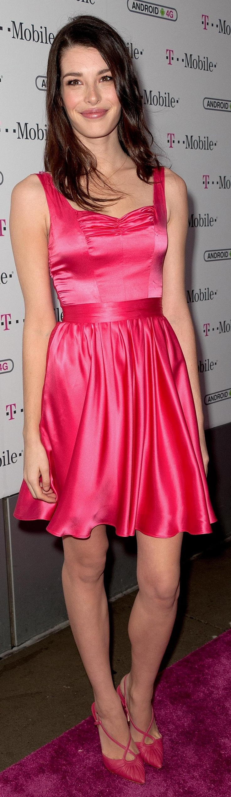 T-Mobile's Carly to dump pink dress in favor of leather and a Ducati motorcycle