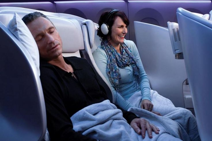 Premium Economy Spaceseat -Air New Zealand. No more fighting for an armrest space or feeling crowded