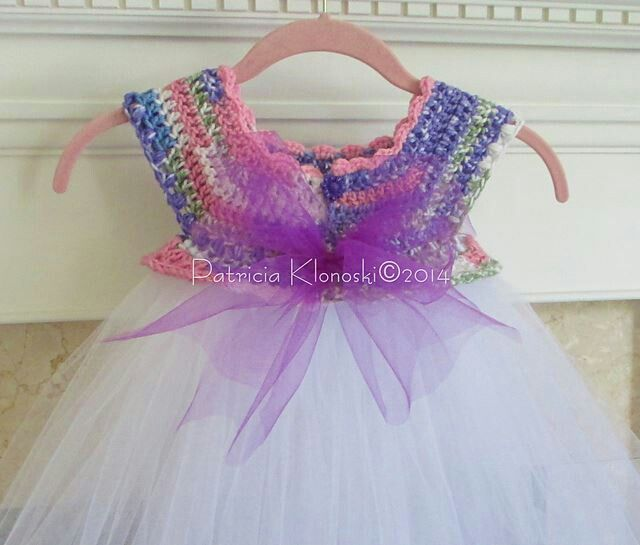 Bodic tutu dress crochet for infants, kids and tweens ...
