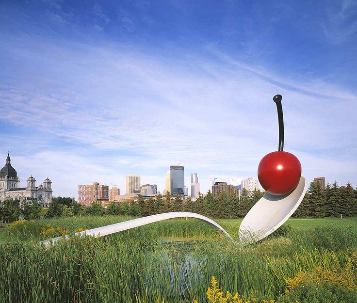 Minneapolis sculpture garden sculpture thinking in 3 d - Walker art center sculpture garden ...