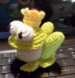 Free Crochet Pattern - Prince Charming Frog Amigurumi from