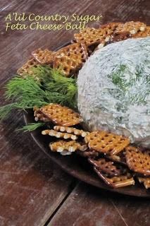 Feta Cheese Ball | Recipe Box | Pinterest