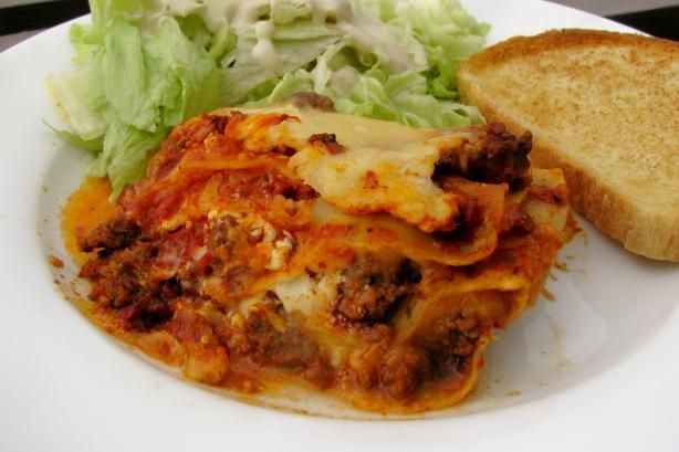 Easy Lasagna With Cottage Cheese | Recipe