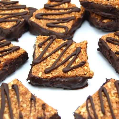 Samoas Cookie Bars. I love Samoa girl scout cookies!