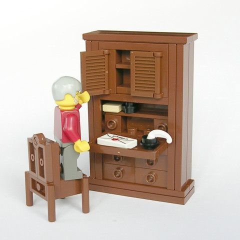 Lego Furniture Lego Pinterest