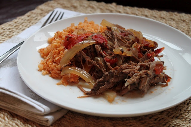 """River North Paleo Girl: Slow Cooker Paleo Ropa Vieja with Cuban """"Rice"""""""